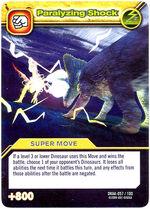 Paralyzing Shock TCG Card 1-Silver