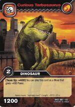 Tarbosaurus-Curious TCG Card (German)