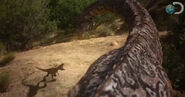 Dinosaur Revolution vs. Deadly Tail Whip 1-1-