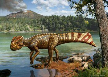Koreaceratops-Julius-T -Csotonyi