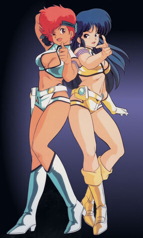 File:Dirty Pair Anime Duo.jpg