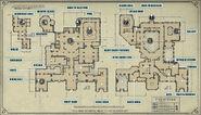 ARAMIS STILTON'S MANSION MAP