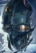 Corvo's mask promotional