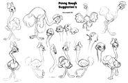 Dumbo II Sketch Penny