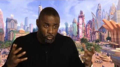 """Zootopia Zootropolis """"Chief Bogo"""" Behind The Scenes Interview - Idris Elba"""