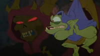 Horned King holding Creeper