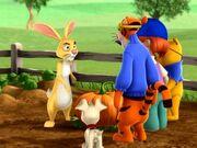 My friends tigger & pooh rabbit