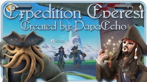 """Disney Infinity 1.0 Toy Box - Davy Jones and Jack Sparrow - """"Expedition Everest"""" by PapaEcho"""