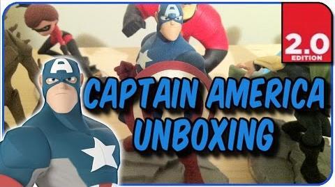 "Disney Infinity 2.0 - Captain America Figure Unboxing - ""Defender Of America!"""