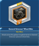 General Grievous' Wheel Bike 3.0