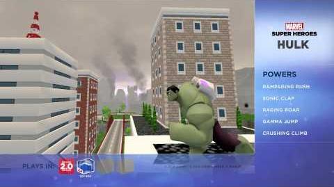 Hulk - Disney Infinity Marvel Super Heroes (2