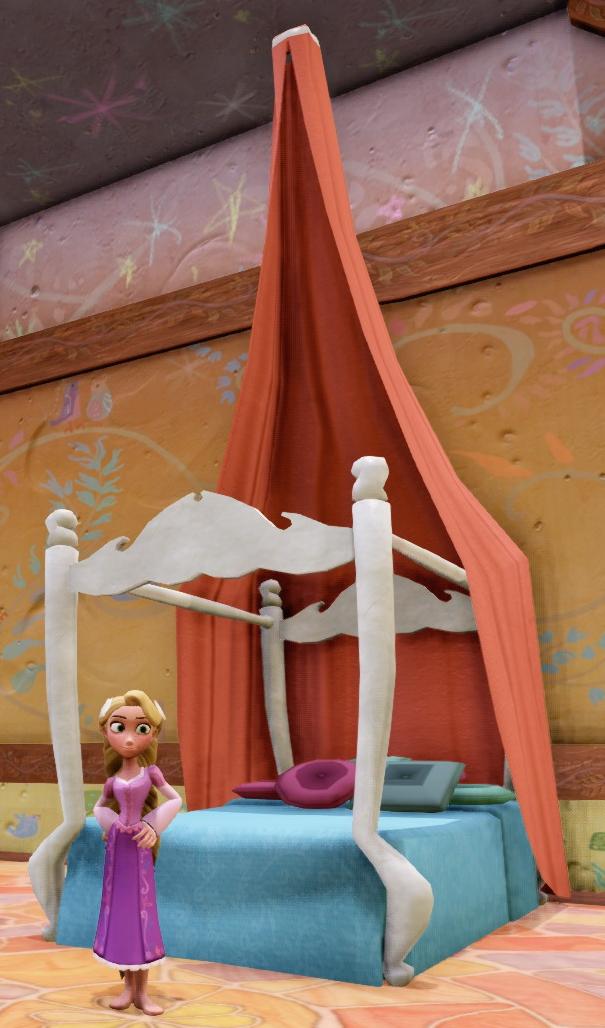 Rapunzel S Bed Disney Infinity Wiki Fandom Powered By