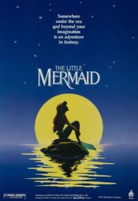 Movie poster the little mermaid