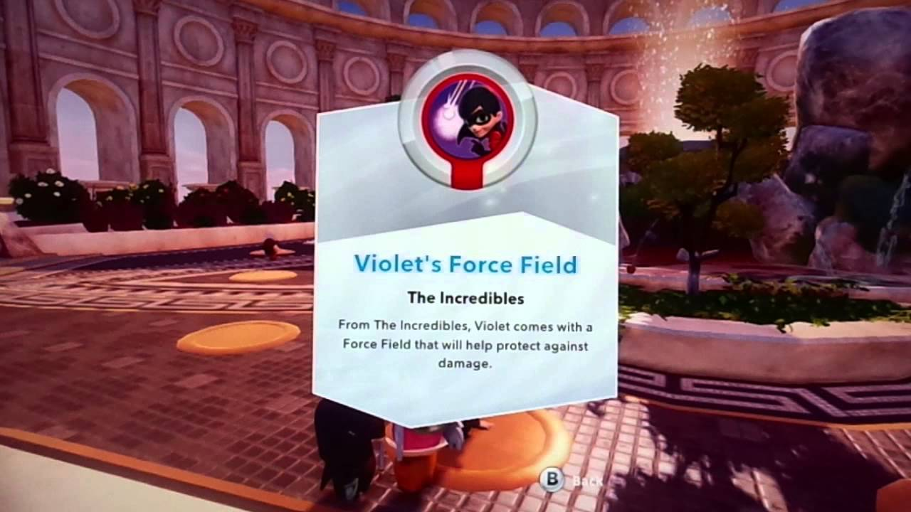 Violet S Force Field Disney Infinity Wiki Fandom