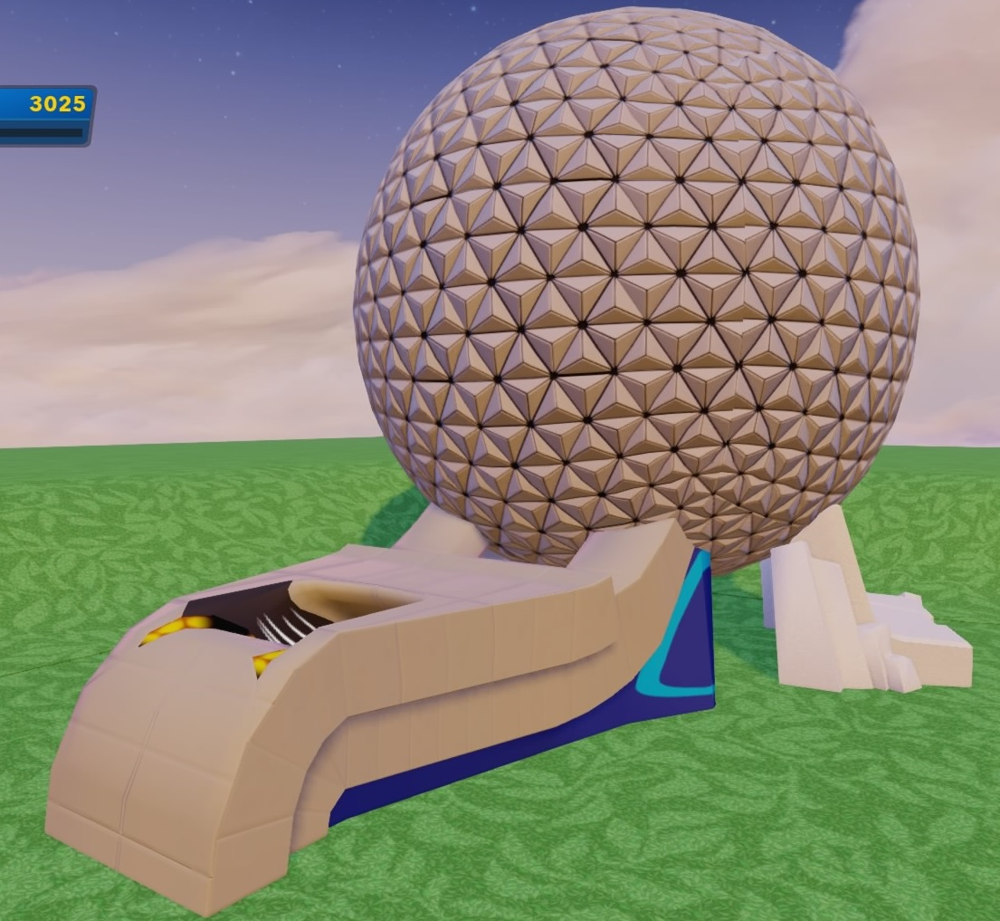 Epcot Spaceship Earth Toy Epcot's Spaceship Eart...