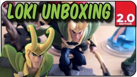 "Disney Infinity 2.0 - Loki Figure Unboxing - ""Prince Of Darkness"""