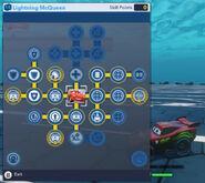 Lightning McQueen Skills