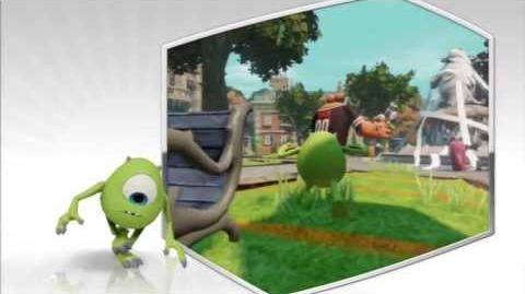 Disney Infinity - Mike Wazowski Character Gameplay - Series 1