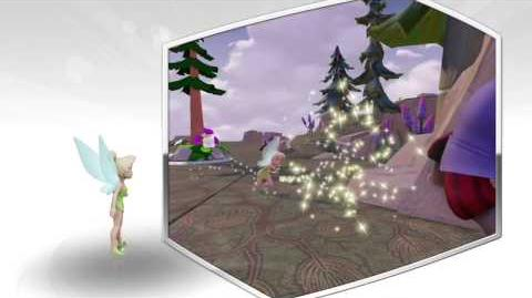Disney Infinity 2.0 Tinkerbell preview video.