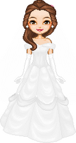 Belle wedding lolascheving