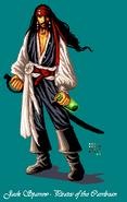 Captain Jack Sparrow firefly-wp