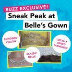 Sneak Peek at Belle's Gown