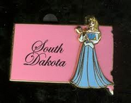 South Dakota Pin