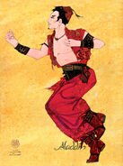 Aladdin Broadway Costume Concept Art Kasim