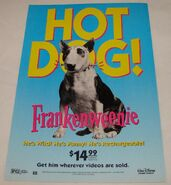 Frankenweenie Video Ad