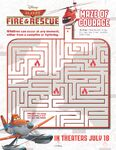 Planes-Fire-and-Rescue-Maze-of-Courage Samoloty 2 plakat