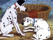 Pongo and Perdita Sad
