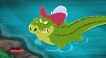 Tick-Tock Crocodile - Captain Hook's hat