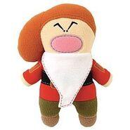 Grumpy stitch doll