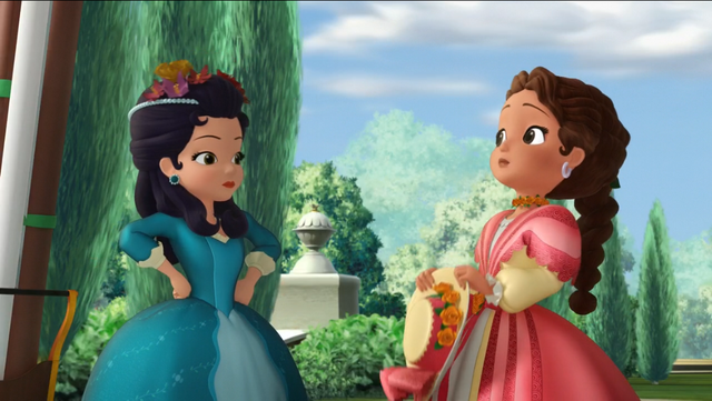 Image Princess Hildegard Is Very Disappointed At Princess Hildegard Sofia The