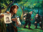 TangledDeluxeStorybook FlynnPosterStabbingtons