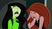 Kim and shego crying