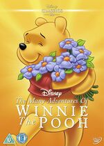 The Many Adventures of Winnie the Pooh UK DVD 2014 Limited Edition slip cover