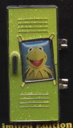 Disney pin 2009 kermit locker 1