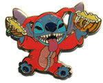 Stitch - Halloween Devil with Pumpkin