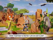 Disney Infinity Earth Day app