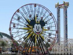 Mickey's Fun Wheel at Disney California Adventure