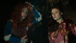 Once Upon a Time - 5x06 - The Bear and the Bow - Belle and Merida 2