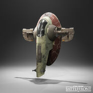 Slave one Battlefront