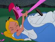 Alice Strangling a Pink Flamingo 01.jpg