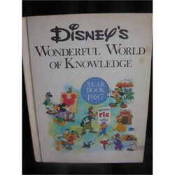Disneys wonderful world of knowledge year book 1987