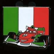 Italy Cars Pin