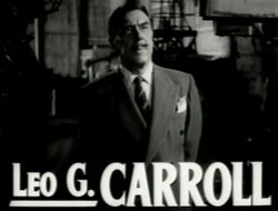 Leo G Carroll in The Bad and the Beautiful trailer