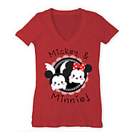 Mickey and Minnie Tsum T Shirt