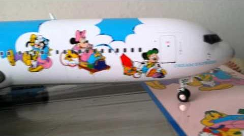 "JC Wings 200 JAL B767-300 "" Disney Dream Express"""
