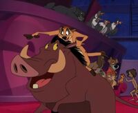 House of Mouse-TimonPumbaa jungle book meet oliver & company